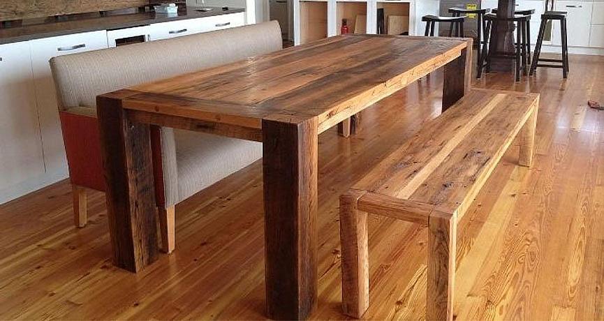 Большой стол в стиле Лофт